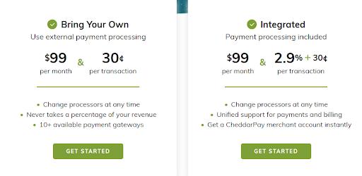 Cheddar Pricing